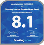 Booking.com - Flexistay London Serviced ApartHotel
