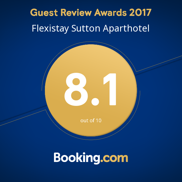 Booking.com - Flexistay Sutton ApartHotel 2017