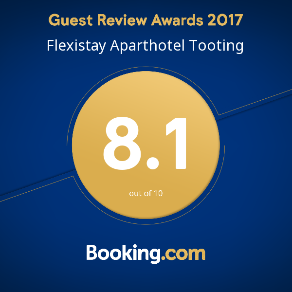 Booking.com - Flexistay ApartHotel Tooting 2017